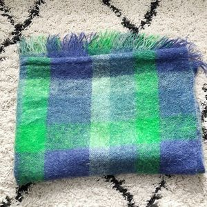 Hudson Bay wool mohair blanket